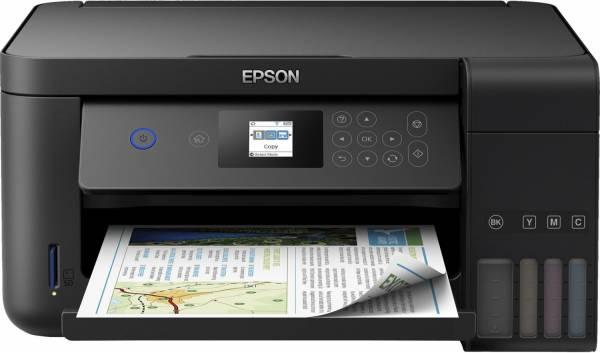 Epson EcoTank ET-2750 A4 Tintenstrahl Multifunktionsdrucker (Drucker,Scanner,Kopierer) Duplex,WiFi,