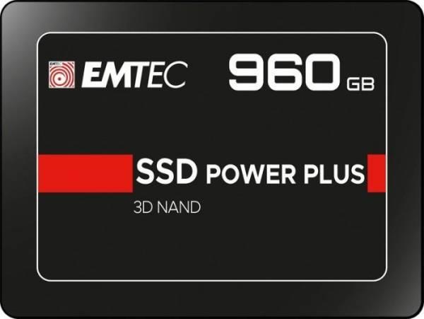 "EMTEC X150 Power Plus 3D NAND SSD 6.4cm(2.5"")/960GB/SATA-III"