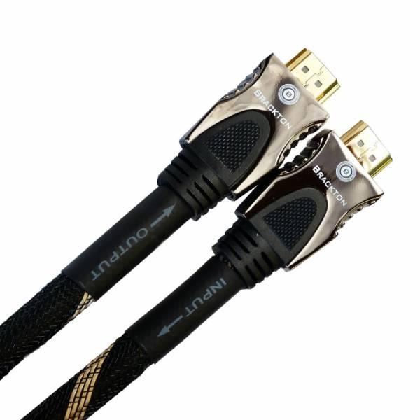 Brackton Active Ultra HD 4K 25m HDMI Kabel 3D High Speed mit Ethernet St/St