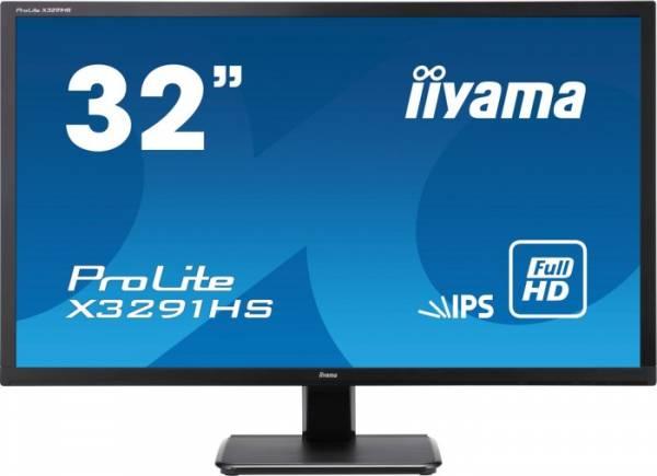 """iiyama ProLite X3291HS 32"""" 16:9 Full HD IPS Display schwarz"""