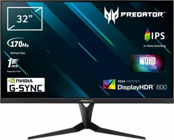 "Acer Predator XB323UGP 32"" 16:9 WQHD Display schwarz"